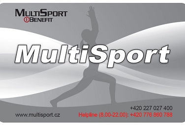 We accept MultiSport cards